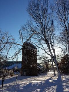 Le parc des moulins à Québec