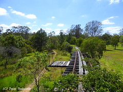Curving into the past (Dylan B`) Tags: beaudesert logan village qr queensland rail disused branch line