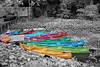 Canoes (rjoseluis12015) Tags: canoes canoas veracruz mexico blackandwhite color flickr bright red green blue orange water lake