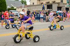 Tricycle Races at Jubilee Days (WayNet.org) Tags: festival race us unitedstates tricycle indiana hagerstown waynecounty waynet jublieedays