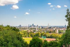 Sunny Day in Hampstead Heath (ItsyBitsyAmi) Tags: park summer london day hill sunny parliament heath hampstead viewpoint