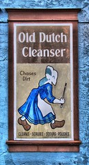 Old Dutch Cleaner Placard Kissimmee Florida (My travels through East Coast and the Caribbean) Tags: old dutch florida cleaner kissimmee hdr placard dynamicphotohdr ronaldbellorin