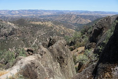 The High PeaksTrail continues on to the visitor center (rozoneill) Tags: california park hiking salinas national valley soledad pinnacles hollister wsweekly150