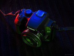 Canon 1000D (a.k.a Rujakandroid.) Tags: camera lightpaint sonya300