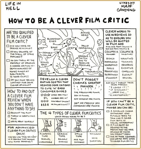 How to be a movie critic?