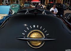 1951 Oldsmobile Rocket 88 (Chad Horwedel) Tags: black classic car illinois naperville olds oldsmobile rocket88 oldsmobilerocket88 4thofjulycarshow 1951oldsmobilerocket88