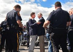 Governor Cuomo and Vice President Biden Join Participants of 9/11 Memorial Ride (governorandrewcuomo) Tags: newyorkcity newyork newyorkstate worldtradecentersite vicepresidentjosephbiden governorandrewmcuomo motorcycleridetogroundzero