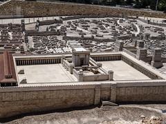 Old Temple of the Lord at the center, left the Sanhedrin and the Fortress Antonia right in Israel Museum (ADRIANOVIAJANTE007) Tags: israel jerusalem jerusalemdistrict