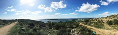 View from Faskomilia... Clouds Enjoying Life Sea Sea And Sky In Greece Vouliagmeni Beautiful Skies (ikourtesis) Tags: sea clouds seaandsky vouliagmeni enjoyinglife beautifulskies ingreece