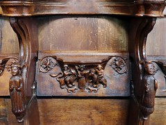 Beverley, East Yorkshire (Oxfordshire Churches) Tags: uk england unitedkingdom churches panasonic carvings anglican beverley cofe woodcarvings eastyorkshire churchofengland mft listedbuildings gradeilisted misericords micro43 microfourthirds lumixgh3 johnward