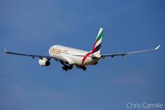 Emirates A330-200 'A6-EKT' LMML (Chris_Camille) Tags: plane airplane aviation malta emirates airbus airborne departure a330 6d a330200