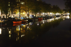 Amsterdam October 2015 (christilou1) Tags: city autumn netherlands amsterdam october sony canals bicycles 18 waterways fe55 a7rii