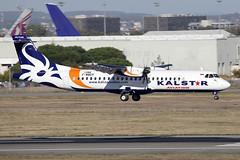 6 novembre 2015 - KALSTAR  AVIATION - ATR 72-600  F-WWEP  c/n 1286 - LFBO - TLS (gimbellet) Tags: canon airplane airport nikon aircraft aviation airplanes transport transportation airbus a380 boeing toulouse aeroport blagnac a330 spotting avion tls a340 a320 avions atr aeronautique a350 toulouseblagnac lfbo