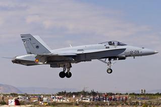 EF-18A EJÉRCITO DEL AIRE (C.15-51 / 12-09)