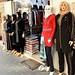 Hijabs on mannequins in Istanbul