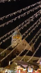 The Advent of Christmas (grinnin1110) Tags: night germany outdoors deutschland europe downtown cathedral dom illumination christmasmarket weihnachtsmarkt christmaslights markt altstadt oldtown mainz marktplatz marketsquare rheinlandpfalz rhinelandpalatinate martinsdom domsanktmartin