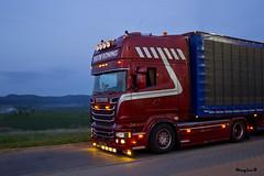 """Scania R Streamline Topline """" TIJS DE KONING """" (NL) (magicv8m) Tags: transport r nl trans scania streamline lkw tir topline tijsdekoning"""