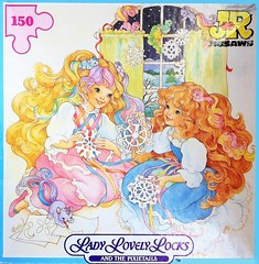 1986 Lady Lovely Locks and the Pixietails 150pc Jigsaw Puzzle (The Barbie Room) Tags: lady hair fair puzzle locks jigsaw lovely 1986 maiden lovelylocks fairhair pixietails
