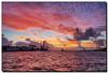 Fire in the Sky (Fraggle Red) Tags: morning lighthouse clouds sunrise dawn florida windy inlet hdr waterway pompanobeach hillsboroinlet canonef24105mmf4lisusm 7exp hillsboroinletlight browardco dphdr hillsboroinletpark canoneos5dmarkiii 5d3 5diii