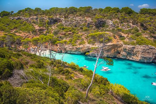 Beautiful Calo des Moro, Mallorca (Spain)
