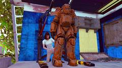 16 (Beth Amphetamines) Tags: wallpaper station screenshot power character professional leon armor sanctuary repairs mathilda fallout4