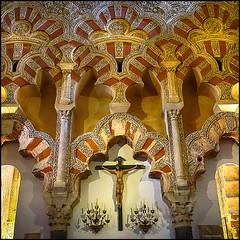 (2204) Mezquita de Crdoba (QuimG) Tags: art church architecture golden andaluca spain arquitectura interiors interior sony mezquita crdoba specialtouch mezquitadecrdoba quimg quimgranell joaquimgranell afcastell obresdart