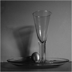 in the style of Sudek v.3 (Wendy:) Tags: shadow stilllife glass egg plate ocf tiltshift sudek