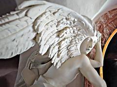 Stone angel (rotraud_71) Tags: austria carinthia krnten church cathedralingurk sculpture angel