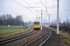 Once upon a time - The Netherlands - Utrecht Westraven (railasia) Tags: holland provinceutrecht utrecht westraven sun articulatedmotorcar sig deliverydesign infra eighties