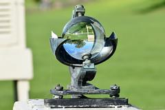 CampbellStokes Recorder (Bri_J) Tags: chatsworthhousegardens bakewell derbyshire uk chatsworthhouse chatsworth gardens nikon d7200 campbellstokesrecorder meteorology sunshinerecorder glasssphere weatherstation