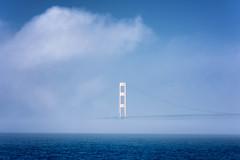 MackinawBridge#096 (multistraddler) Tags: mackinaw bridge mist clouds michigan