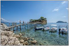 Brug  naar Agios Sostis (Cameo Island) Zakynthos, Griekenland (Michael Neeven) Tags: bridge agios sostis cameo island zakynthos greece griekendland griechenland 2016 ionischezee ioniansea
