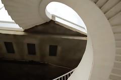 Stairs ??? (Jurek.P - business trip) Tags: stairs warsaw warszawa poland polska architecture bridge spiral jurekp sonya77