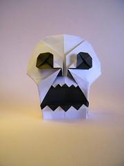 Skull - Jo Nakashima (Rui.Roda) Tags: origami papiroflexia papierfalten crâne calavera caveira halloween skull jo nakashima