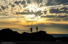 Perranporth Beach (JamieMarie Oaksford) Tags: cornwall unitedkingdon england cornish cornwalluk beach seascape sea sunset nikon nikond610 cornwallcoastline uk explore colours outdoorphotography