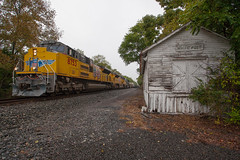 NS 16T - White Post, VA (T-3 Photography) Tags: train railroad railfan rail railway norfolksouthern ns depot station trainstation shenandoahvalley canon 5dmarkii 1740mm wideangle rural