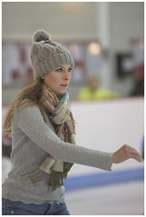 Unknown Skater (theimagebusiness) Tags: theimagebusiness theimagebusinesscouk travel tourism touristattraction ice skating icerink indoor arena venue stirling scotland attractive beauty woman d810 fun girl active sport sporty exercise location momentintime nikon portrait pretty people uk visitorattractions youngwoman availablelight lowlight highiso