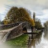 bridge No.1 (aguy4hiscamera) Tags: bridge canal footbridge hdrphotos autumn water canon600d canonuk lightroom3