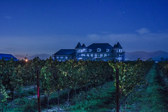 chateau's exterior shaping up (pbo31) Tags: livermore eastbay blue chateau alamedacounty green wine grapes farm winery california nikon d810 color november 2016 boury pbo31 fall bayarea night dark estate construction