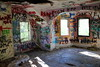 (Lady.in.Black) Tags: potapscostatepark marylandpark abandonedhouses historichouses historic houses abandoned graffiti fallingapart hollowwalls furniture ellicottcity graffitiwalls graffitirooms urbanexploring exploring deteriorated