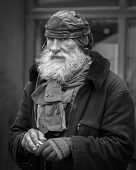 Homeless But Stylish (Jim-Mooney) Tags: bw black white blackwhite blackandwhite mono monochrome monotone street photography portrait people fuji xt1 fujinon 50140mm candid kansascity