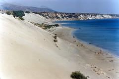 Frangocastello 1990 (alkanast) Tags: kriti crete hellas greece   film water sea    francocastello
