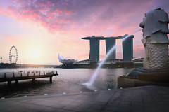 Merlion fountain (Patrick Foto ;)) Tags: architecture asia attraction background bay building business city cityscape destination district dusk evening famous fountain hotel illuminated landmark landscape light lion marina merlion modern morning night outdoors park reflection riverside sands scene sea singapore sky skyline statue symbol tourism tourist travel urban view water waterfront sg
