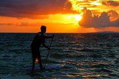 Paddle Boarding during Sunset (shutterbug_russ) Tags: boracay sunset paddleboard teampilipinas