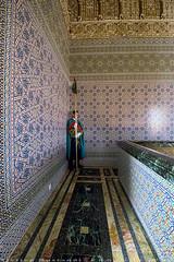 Inside Mausoleum other guard (T   J ) Tags: morocco rabat fujifilm xt1 teeje fujinon1024mmf4