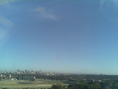 Sydney 2016 Oct 21 07:18 (ccrc_weather) Tags: ccrcweather weatherstation aws unsw kensington sydney australia automatic outdoor sky 2016 oct earlymorning