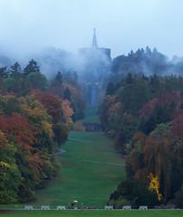 Hercules monument, Kassel, Germany (kani.oeztas) Tags: kassel landscape germany deutschland nature autumn herbst sonbahar gz herkules wilhelmshhe travel europa