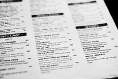 Choices of Food (Daniel Y. Go) Tags: fuji fujixpro2 xpro2 philippines mono menu bw food choices