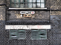 Brick Lane (bindubaba) Tags: london bricklane streets bengali script