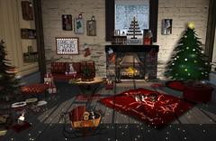 Be merry (nannja.panana) Tags: blackbantam circa birdy candycanehunt christmasexpo dreamscapesartgallery homefortheholidayshunt jian laqdecor pinkacid poe9 sassbuildz swank woodworks coffeetime christmas secondlife nannjapanana